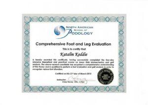 Katalin Keddie - Comprehensive Foot and Leg Evaluation
