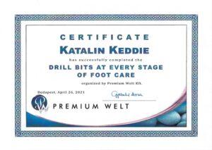 Katalin Keddie Drill Bits at Every Stage