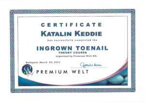 Katalin Keddie - Ingrown Toenail