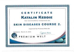 Katalin Keddie - Skin Diseases Course - 2