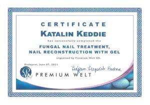 Katalin Keddie - Fungal Nail